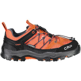 CMP Campagnolo Rigel Low WP Trekking Shoes Kids orange-antracite